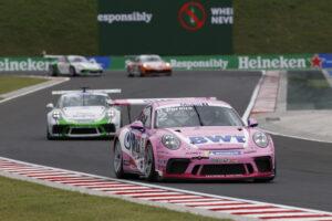 Porsche 911 GT3 Cup, Dylan Pereira (L), Porsche Mobil 1 Supercup, Budapest 2020