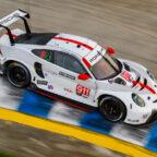 Porsche 911 RSR, Porsche GT Team (#911), Frederic Makowiecki (F), Nick Tandy (GB) IMSA 2020