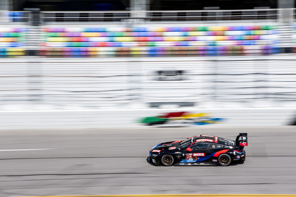 Daytona (USA), 4th July 2020. IMSA WeatherTech 240 at Daytona, Daytona International Speedway, BMW Team RLL, #24 MOTUL BMW M8 GTE, John Edwards (USA), Jesse Krohn (FIN). IMSA WeatherTech SportsCar Championship.