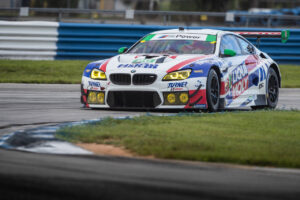 Sebring (USA), 18th July 2020. IMSA WeatherTech SportsCar Championship, Turner Motorsport, BMW M6 GT3, Robby Foley, Bill Auberlen, Sebring International Raceway.