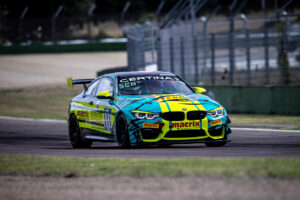 Munich (GER), 27th July 2020. BMW M4 GT4, BMW M Customer Racing, GT4 European Series, Imola, RN Vision STS Racing Team.