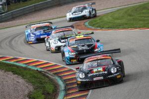 Zu Gast bei PS on Air live am Lausitzring: Das Precote Herberth Motorsport-Duo Sven Müller und Robert Renauer