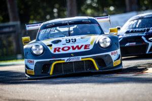 GT World Challenge Europe - Endurance Cup, Round 1 - Imola 2020; #99 Porsche 911 GT3 R, Rowe Racing: Julien Andlauer, Klaus Bachler, Dirk Werner