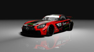 HP Racing International DTM-Trophy 2020 Mercedes-AMG GT4