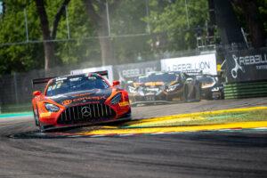 GT World Challenge Europe - Endurance Cup, Round 1 - Imola 2020 #5 Mercedes-AMG GT3, Haupt Racing Team: Hubert Haupt, Sergey Afanasiev, Finlay Hutchison