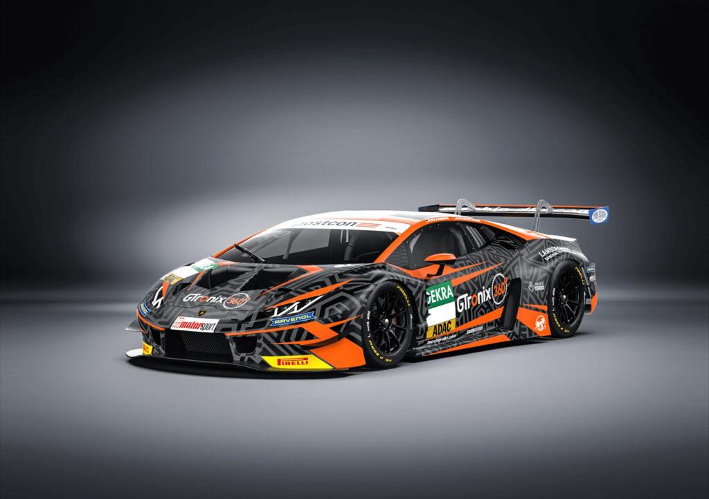 mcchip-dkr Lamborghini Huracan GT3 ADAC GT Masters 2020