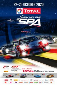 TOTAL 24h Spa Francorchamps 2020 Plakat 2