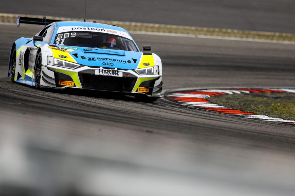 ADAC GT Masters, 3. + 4. Rennen Nürburgring 2020 - Foto: Gruppe C Photography; #31 Audi R8 LMS GT3, Rutronik Racing: Patric Niederhauser, Kelvin van der Linde