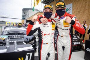 ADAC GT Masters, 1. + 2. Rennen Lausitzring 2020 - Foto: Gruppe C Photography; #32 Audi R8 LMS GT3, Team WRT: Charles Weerts, Dries Vanthoor