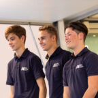 Marius Zug, Jan Philipp Springob und Max Hesse (v.l.)Präsentation des Förderkaders 2020, ADAC Stiftung Sport, Essen Motor Show