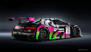 Car Collection Audi R8 LMS GT3 NLS N24h 2020