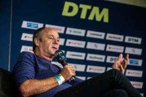 Gerhard Berger (ITR), DTM Lausitzring 2020, (Photo by Hoch Zwei)