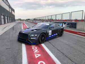 Team Lazarus Bentley Continental GT3 2020