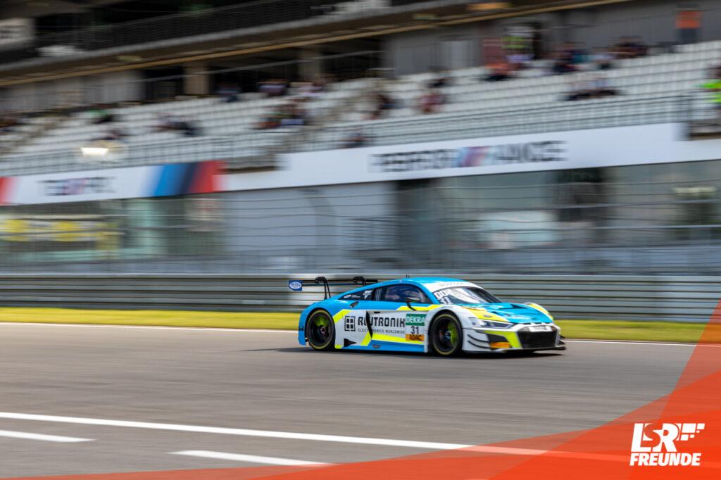 Rutronik Racing ADAC GT Masters Nürburgring 2020 Audi R8 LMS GT3