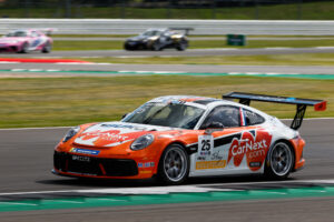 Porsche 911 GT3 Cup, Larry ten Voorde (NL), Porsche Mobil 1 Supercup, Silverstone 2020