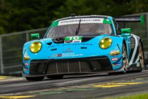 Porsche 911 GT3 R, Wright Motorsports (#16), Patrick Long (USA), Ryan Hardwick (USA) IMSA 2020 Virginia