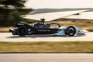 Motorsport: Germany, FormelE, Test, formula e, Porsche 99x Pascal Wehrlein