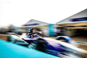 Berlin (GER), 9th August 2020. ABB FIA Formula E Championship, season finale, BMW i Andretti Motorsport, BMW iFE.20, Maximilian Günther.