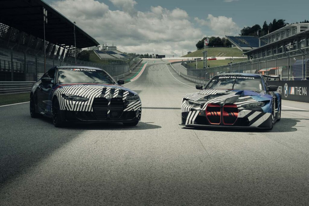 BMW M4 GT3 und BMW M4 | Foto: BMW Motorsport