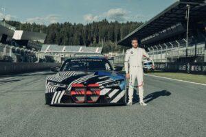 BMW M4 GT3 mit Philipp Eng