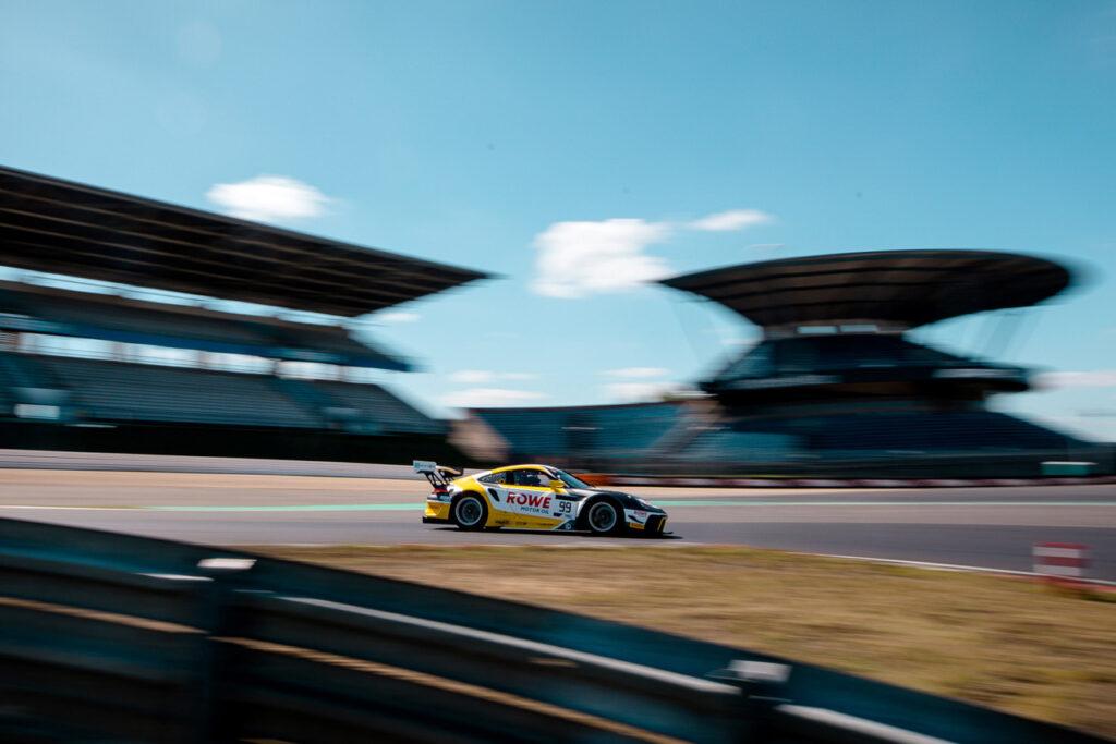 ROWE-Racing, Nürburgring Testfahrt 2020 Porsche 911 GT3 R