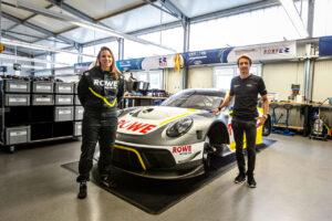 ROWE RACING Simona de Silvestro und Timo Bernhard