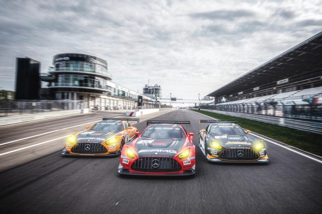 Nürburgring-Nordschleife - HRT Haupt Racing Team Mercedes-AMG GT3