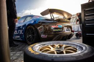Porsche 718 Cayman GT4 Clubsport MR, Four Motors Bioconcept-Car (#420), Matthias Beckwermert (D), Henrik Bollerslev (DK), Nicola Bravetti (CH), Marco Timbal (CH)