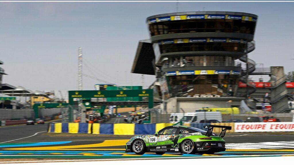 Black Falcon Porsche 911 GT3 Cup Le Mans 2020