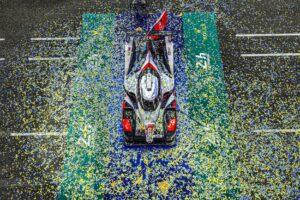 Podium - #7 TOYOTA GAZOO RACING / JPN / Toyota TS050 - Hybrid - Hybrid - 24h of Le Mans - Circuit de la Sarthe - Le Mans - France -