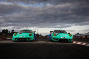 ADAC TOTAL 24h Nürburgring 2020 - Foto: Gruppe C Photography; #033 Porsche 911 GT3 R, Falken Motorsports: Christian Engelhart, Sven Müller, Dirk Werner; #044 Porsche 911 GT3 R, Falken Motorsports: Klaus Bachler, Matteo Cairoli, Martin Ragginger