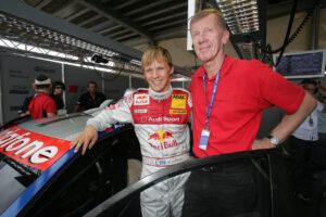 DTM 2006 Mattias Ekström and Walter Röhrl