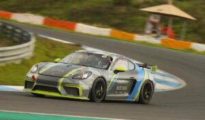Burgmann Racing Porsche Cayman 718 GT4