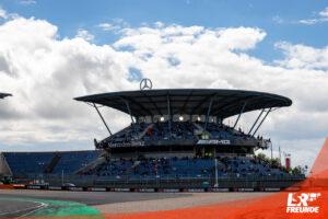 Mercedes Tribüne Nürburgring
