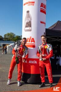 Hendrik Still und Jan Marschalkowski AVIA Sorg Rennsport ADAC GT4 Germany Hockenheim 2020