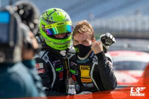 Christian Engelhart (33/Starnberg) und Michael Ammermüller (34/Rotthalmünster, SSR Performance ADAC GT Masters Hockenheim 2020