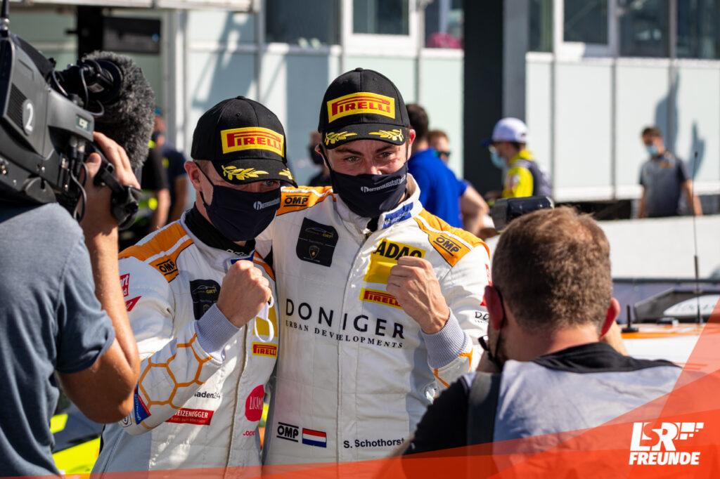 Steijn Schothorst/Tim Zimmermann GRT Grasser Racing Team ADAC GT Masters Hockenheim 2020