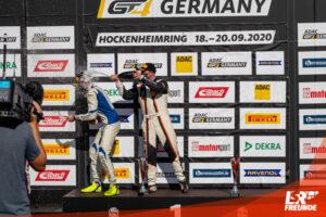 Florian Janits (22/AUT) und Reinhard Kofler (35/AUT, True Racing KTM X-Bow ADAC GT Masters Hockenheim 2020