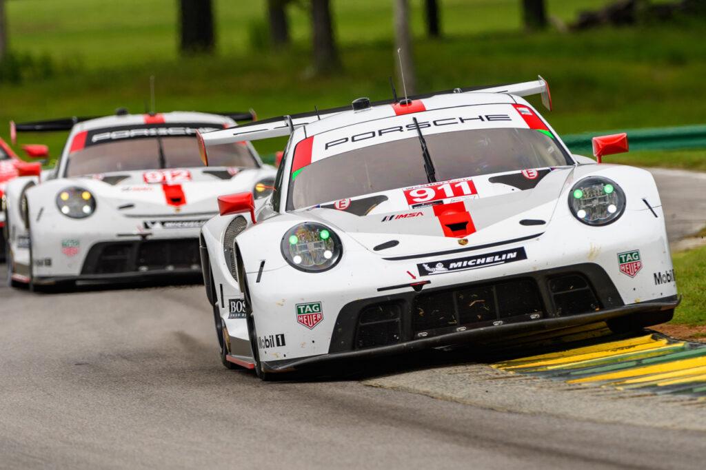 Porsche 911 RSR, Porsche GT Team (#911), Frederic Makowiecki (F), Nick Tandy (GB), Porsche GT Team (#912), Earl Bamber (NZ), Laurens Vanthoor (B)
