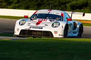 Porsche 911 RSR, Porsche GT Team (#911), Frederic Makowiecki (F), Nick Tandy (GB) IMSA 2020 Road Atlanta