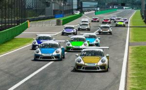 Porsche Esports Carrera Cup Deutschland 26. Carlo Luciano Bedin (I), Porsche Zentrum Bamberg 17. Nestor Garcia (ES), Porsche Zentrum Lennetal Start