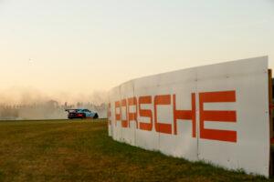 Porsche 911 RSR (86), Gulf Racing: Michael Wainwright, Nick Foster, Ben Barker  Motorsports: 24 Hours of Le Mans on June, 18, 2017,