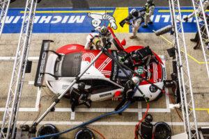 Porsche 911 RSR, Porsche GT Team (#91), Gianmaria Bruni (I), Richard Lietz (A), Frederic Makowiecki (F) 24h Le Mans 2020