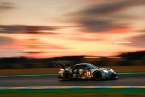24 Hours of Le Mans 2020 Porsche 911 RSR, Dempsey-Proton Racing (#77), Christian Ried (D), Riccardo Pera (I), Matt Campbell (AUS)
