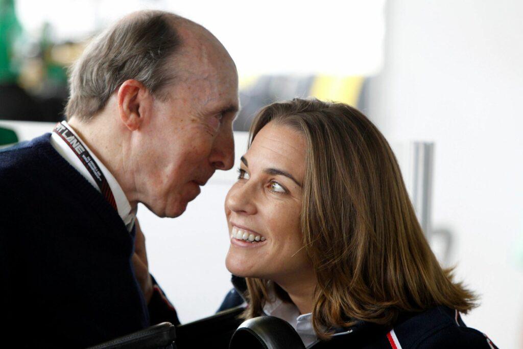 Sir Frank und Claire Williams