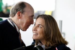 Sir Frank und Claire Williams