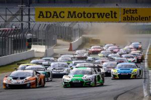 ADAC GT Masters, 5. + 6. Rennen Hockenheimring 2020 - Foto: Gruppe C Photography; #82 Lamborghini Huracan GT3 Evo, GRT Grasser Racing Team: Tim Zimmermann, Steijn Schothorst; #30 Audi R8 LMS GT3, Team WRT: Rolf Ineichen, Mirko Bortolotti