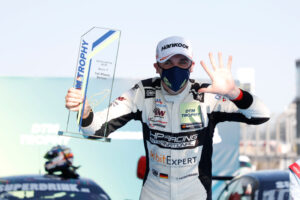 2020 DTM Trophy Nürburgring SPR; Podium: Tim Heinemann (GER), HP Racing, Mercedes AMG