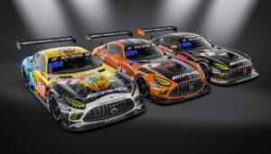 HRT Haupt Racing Team Mercedes-AMG GT3 N24h 2020