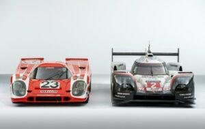 Porsche 917 und Porsche 919 Hybrid